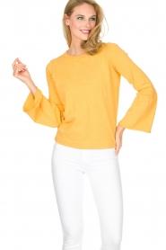 Knit-ted | Trui Jill | geel  | Afbeelding 4