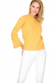 Knit-ted | Trui Jill | geel  | Afbeelding 2