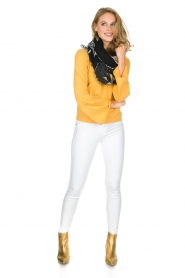 Knit-ted | Trui Jill | geel  | Afbeelding 3