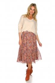 Set |  Floral midi skirt Imane | print  | Picture 3