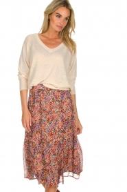 Set |  Floral midi skirt Imane | print  | Picture 2
