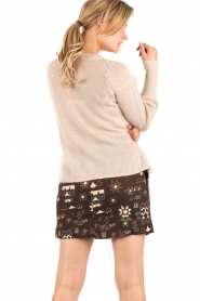 Knitted sweater Maud   naturel