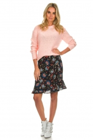 Set |  Skirt with floral print Didi | black  | Picture 3