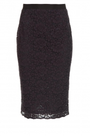 Set |  Pencil skirt with lace Eletta | navy  | Picture 1
