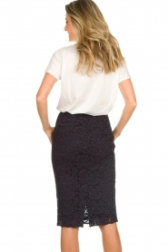 Set |  Pencil skirt with lace Eletta | navy  | Picture 5