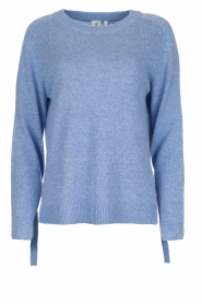 Knit-ted | Trui Jessica | blauw  | Afbeelding 1