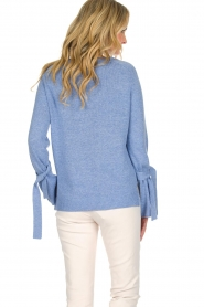 Knit-ted |  Sweater Jessica | blue  | Picture 5