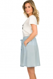 Set |  Skirt with bow detail Maddy | blue  | Picture 4