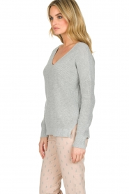 Knit-ted |  Sweater Winny | grey  | Picture 5