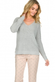 Knit-ted |  Sweater Winny | grey  | Picture 4
