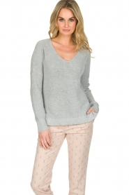 Knit-ted |  Sweater Winny | grey  | Picture 2
