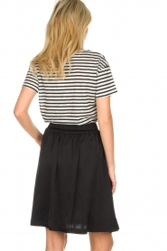 Set    Skirt with bow detail Sigrid   black     Picture 5