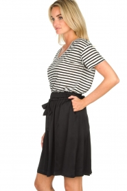 Set |  Skirt with bow detail Sigrid | black   | Picture 4