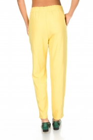 Knit-ted |  Pants Kiara | yellow  | Picture 5