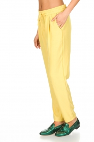 Knit-ted |  Pants Kiara | yellow  | Picture 4