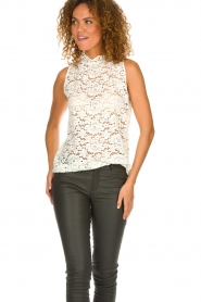 Set |  Lace top Emma | white  | Picture 2