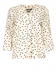 Set | Blouse with dots Romy | natural  | Picture 1
