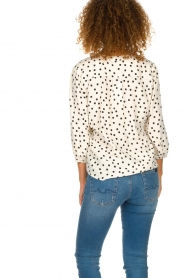 Set | Blouse with dots Romy | natural  | Picture 5