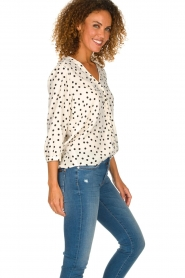 Set | Blouse with dots Romy | natural  | Picture 4