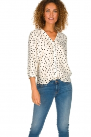 Set | Blouse with dots Romy | natural  | Picture 2