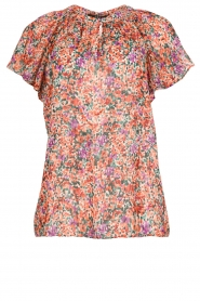 Set |  Floral blouse with ruffles Bloom | print  | Picture 1