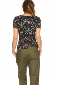 Set |  Floral top Fee | black  | Picture 5