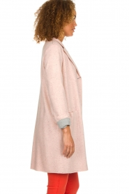 Set |  Long tricot blazer Mandy | pink  | Picture 4