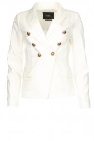 Set |  Classic blazer Elena  | white   | Picture 1