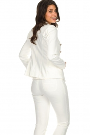 Set |  Classic blazer Elena  | white   | Picture 5