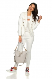 Set |  Classic blazer Elena  | white   | Picture 3