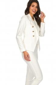Set |  Classic blazer Elena  | white   | Picture 4