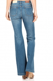 MICHAEL Michael Kors | Flared jeans Orlando | blauw  | Afbeelding 5