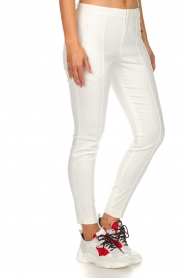 Set |  Classic trousers Gina | white  | Picture 4