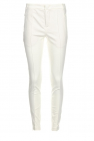 Set |  Classic trousers Gina | white  | Picture 1