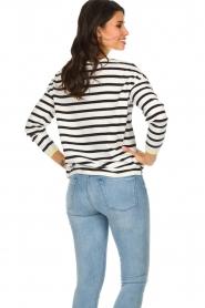 Set |  Striped sweater Tara | white  | Picture 6