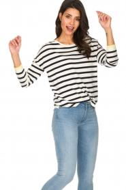 Set |  Striped sweater Tara | white  | Picture 4