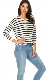Set |  Striped sweater Tara | white  | Picture 5