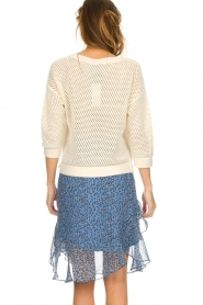 Set |  Knitted cotton sweater Noelle | white  | Picture 5