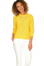Set | Knitted sweater Lucia | yellow  | Picture 2
