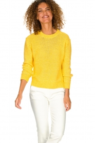 Set | Knitted sweater Lucia | yellow  | Picture 4
