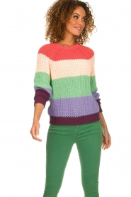 Set |  Coloured sweater Gemma | multi  | Picture 4