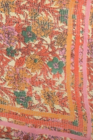 Becksöndergaard | Sjaal met kleurrijke bloemenprint| multi  | Afbeelding 3