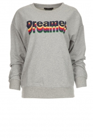 Set |  Sweater with text print Dreamer | grey  | Picture 1