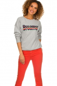 Set |  Sweater with text print Dreamer | grey  | Picture 3