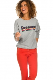 Set |  Sweater with text print Dreamer | grey  | Picture 2