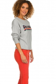 Set |  Sweater with text print Dreamer | grey  | Picture 4