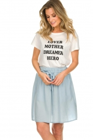Set |  T-shirt with print Elsa | white  | Picture 2