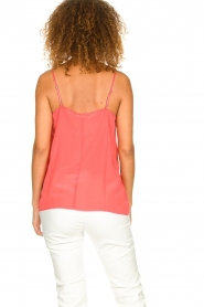 Set |  Silk sleeveless top with lace Mees | pink  | Picture 4
