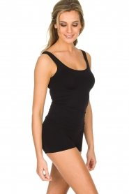 Hanro |  Sleeveless top Touch Feeling | black  | Picture 2