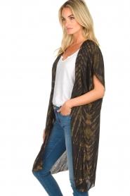 Rabens Saloner |  Kimono Liona  | groen  | Picture 4